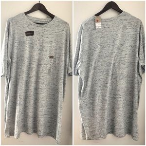 NWT 2XLT Mens Grey Quick-Dri TShirt by Foundry